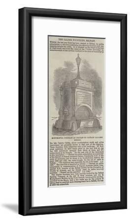 The Calder Fountains, Belfast--Framed Giclee Print