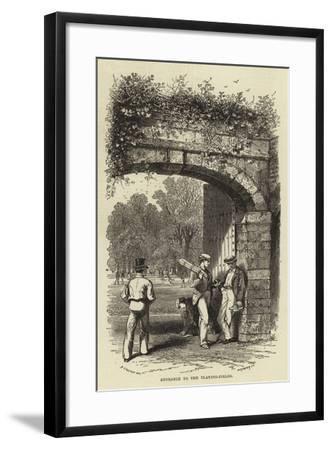 Entrance to the Playing-Fields--Framed Giclee Print