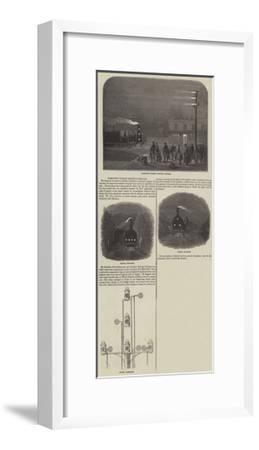 Forsyth's Patent Railway Signals--Framed Giclee Print