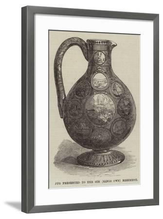 Abyssinian Trophy Claret-Jug--Framed Giclee Print