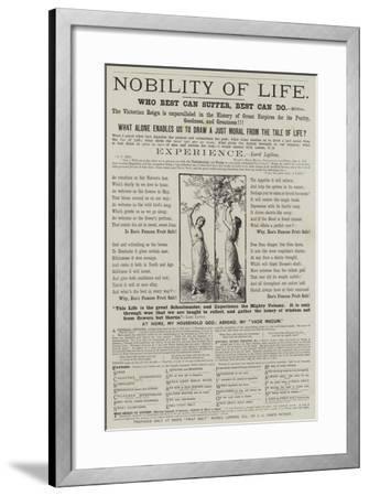 Advertisement, Eno's Fruit Salt--Framed Giclee Print