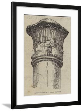Ancient Carthaginian Capital--Framed Giclee Print