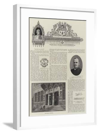 The Merchant Taylors' School--Framed Giclee Print