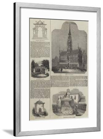 Her Majesty's Belgian Excursion--Framed Giclee Print