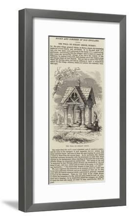 The Well on Ockley Green, Surrey--Framed Giclee Print