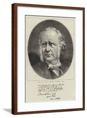 The Late Reverend Thomas Guthrie--Framed Giclee Print