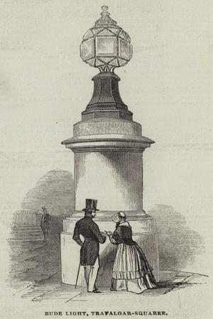 Bude Light, Trafalgar-Square--Framed Giclee Print