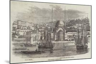 Constantinople, Bouyouk-Dere--Mounted Giclee Print