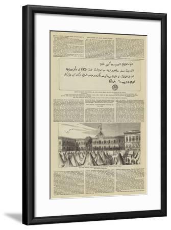 The Imprisonment of Arabi Pasha--Framed Giclee Print