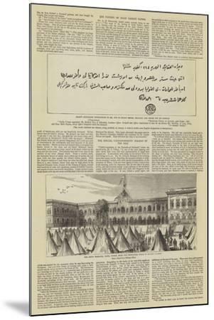 The Imprisonment of Arabi Pasha--Mounted Giclee Print