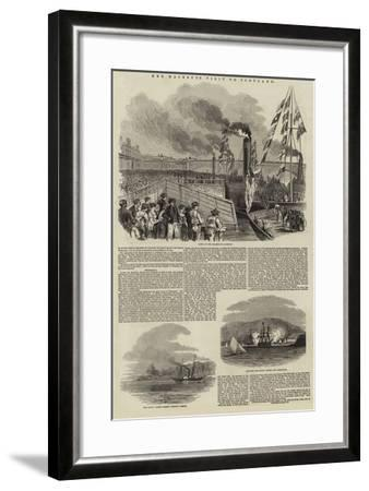Her Majesty's Visit to Scotland--Framed Giclee Print