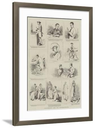 Chiromancy and its Consequences--Framed Giclee Print