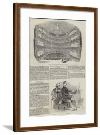 Performing Arts in London--Framed Giclee Print
