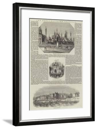 The Royal Pavilion, Brighton--Framed Giclee Print