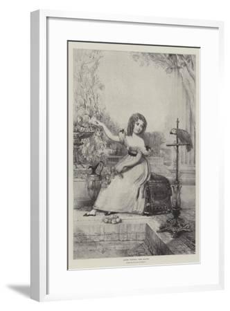 Queen Victoria, Aged Eleven--Framed Giclee Print