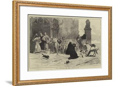 The Return to the Monastery--Framed Giclee Print