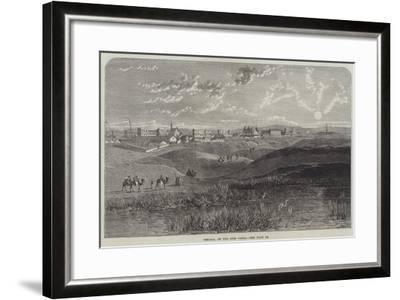 Ismaila, on the Suez Canal--Framed Giclee Print