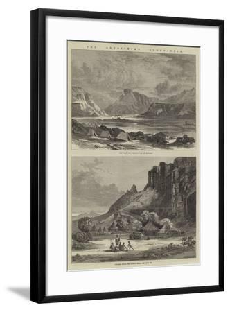 The Abyssinian Expedition--Framed Giclee Print