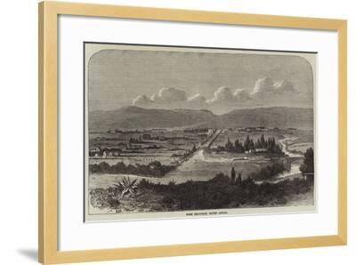 Fort Beaufort, South Africa--Framed Giclee Print