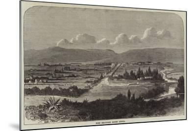 Fort Beaufort, South Africa--Mounted Giclee Print