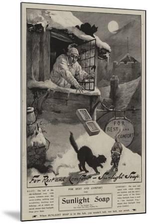 Advertisement, Sunlight Soap--Mounted Giclee Print
