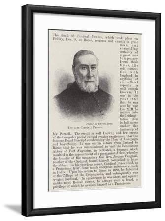 The Late Cardinal Persico--Framed Giclee Print
