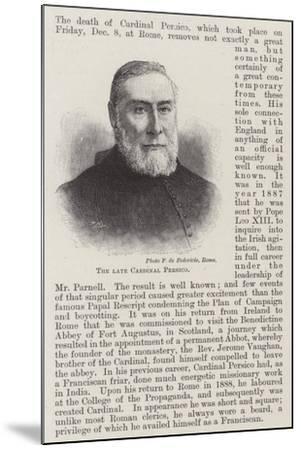 The Late Cardinal Persico--Mounted Giclee Print
