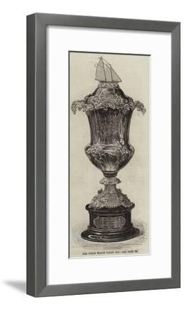 The Ocean Match Yacht Cup--Framed Giclee Print