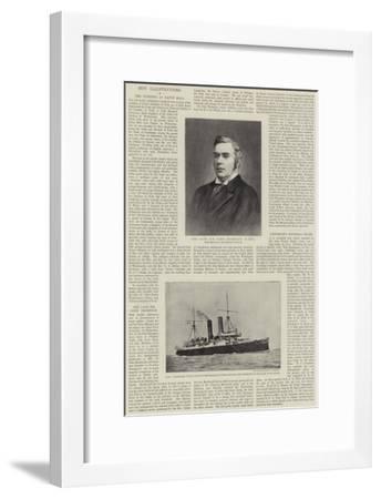The Late Sir John Thompson--Framed Giclee Print