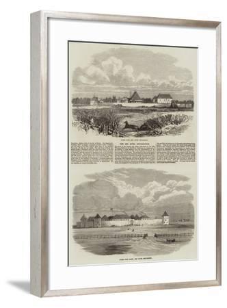 The Red River Insurrection--Framed Giclee Print