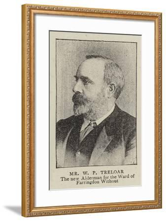 Mr William Purdie Treloar--Framed Giclee Print