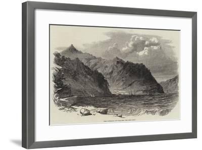 Port Lyttelton, New Zealand--Framed Giclee Print