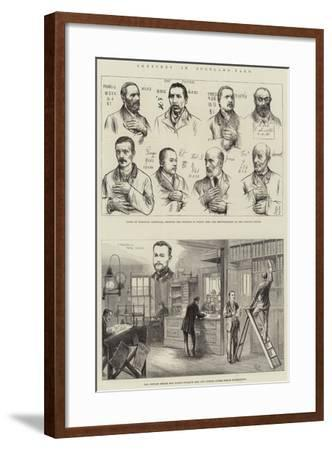 Sketches in Scotland-Yard--Framed Giclee Print