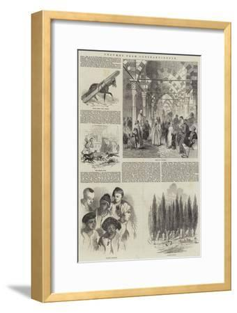 Columns from Constantinople--Framed Giclee Print