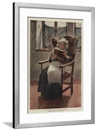 A Romance of Byegone Times--Framed Giclee Print