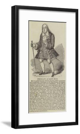 Strickland as Baron Stout--Framed Giclee Print