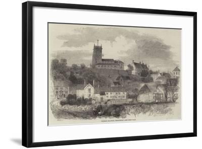 Market Drayton, Shropshire--Framed Giclee Print
