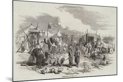 Encampment, at Besika Bay--Mounted Giclee Print