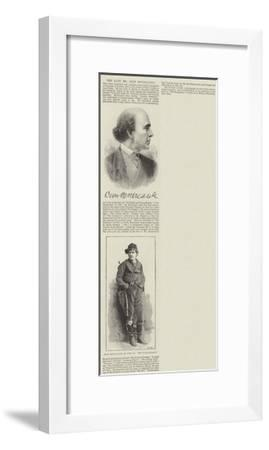 The Late Mr Dion Boucicault--Framed Giclee Print