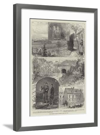 The Brighton Railway Tragedy--Framed Giclee Print