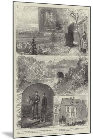 The Brighton Railway Tragedy--Mounted Giclee Print