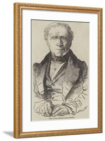 The Late Signor Dragonetti--Framed Giclee Print