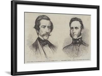 The Civil War in America--Framed Giclee Print