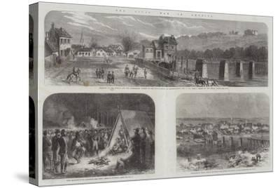 The Civil War in America--Stretched Canvas Print