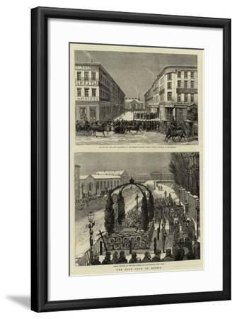 The Late Czar of Russia--Framed Giclee Print