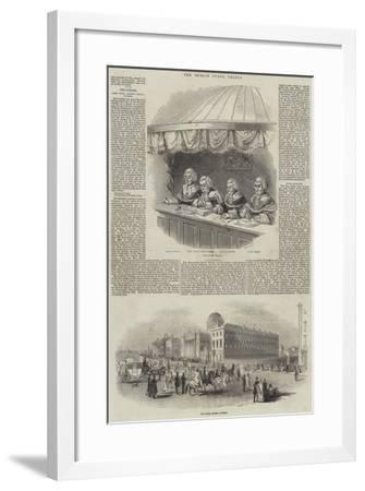 The Dublin State Trials--Framed Giclee Print
