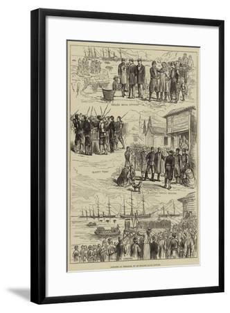 Sketches at Trebizond--Framed Giclee Print