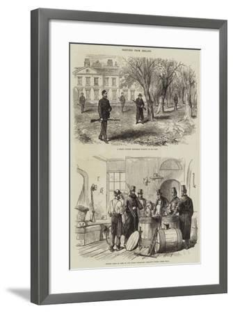 Sketches from Ireland--Framed Giclee Print
