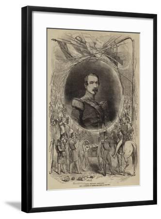 Louis Napoleon Bonaparte--Framed Giclee Print