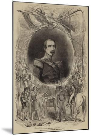 Louis Napoleon Bonaparte--Mounted Giclee Print